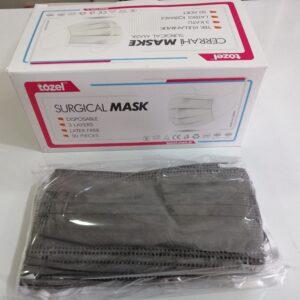 cerrrahi maske renkli maske gri renk maske