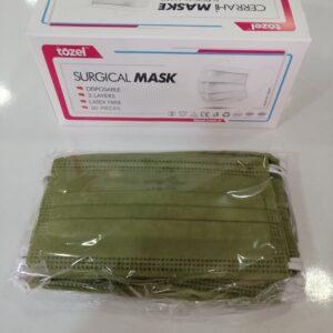 cerrahi maske renkli maske üç katlı maske 3 katlı maske