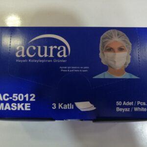 3 katlı maske cerrahi maske acura maske